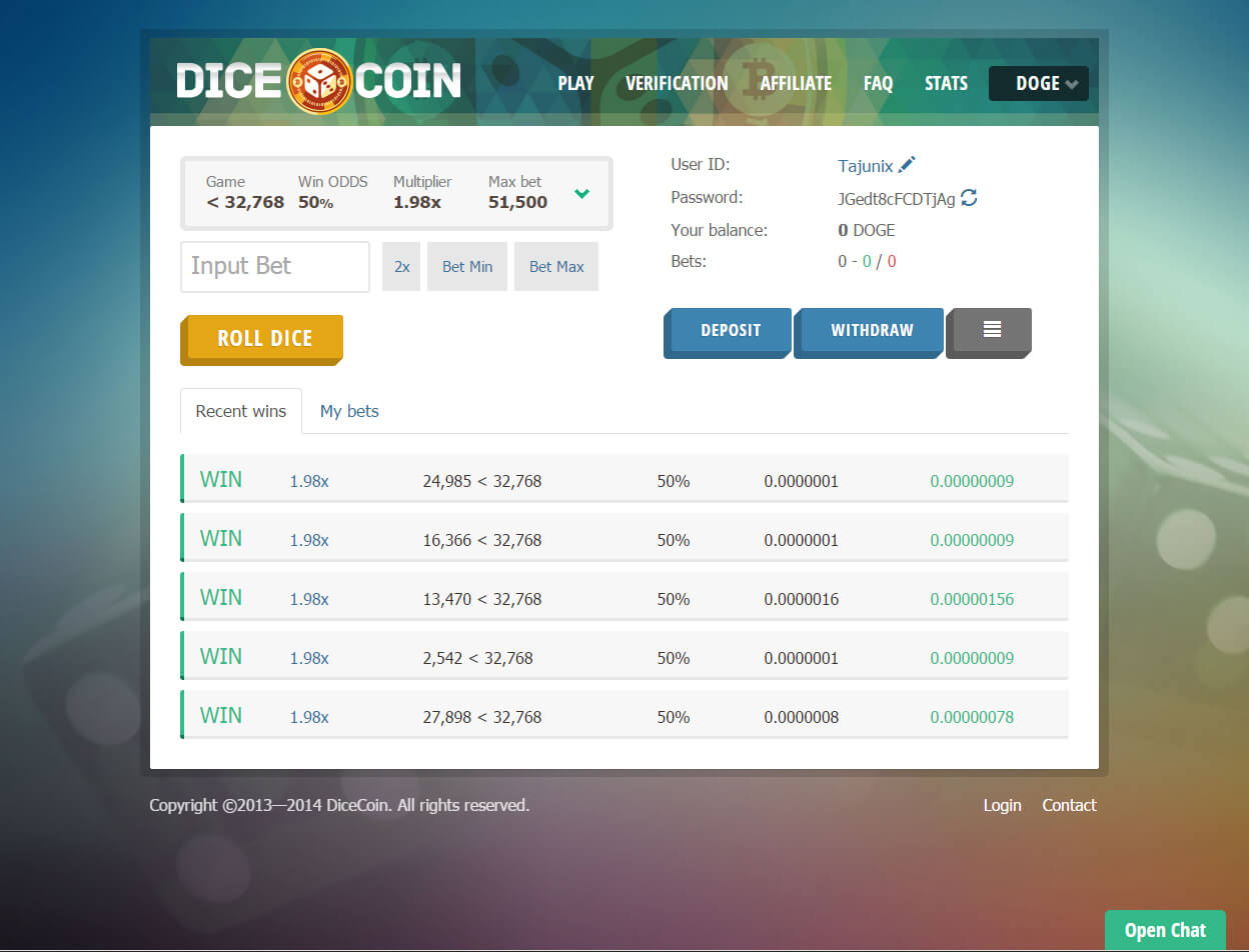 DiceCoin1