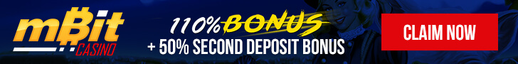 110% Bonus and 50% Second Deposit Bonus